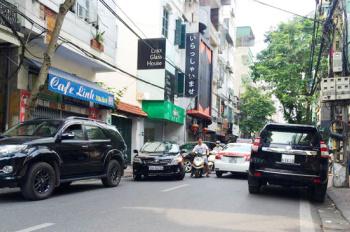 Bán nhà 13.5 tỷ phố Yên Bái 2, Thịnh Yên, mặt ngõ lớn 2 ô tô tải tránh, vỉa hè 2m, 50m2 x 6T KD tốt