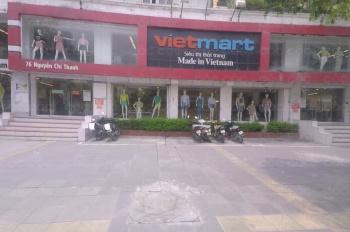 Cho thuê nhà mặt phố Nguyên Hồng, Đống Đa, 250m2, MT 30m kinh doanh nhà hàng cafe ngân hàng