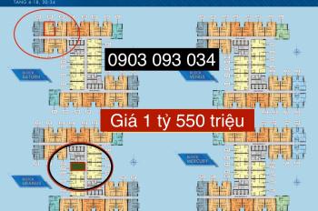 Q7 Sài Gòn Riverside, 2PN 1tỷ550 tr/căn, cam kết giá thật 100%, CĐT Hưng Thịnh 0903093034 Thanh Trà