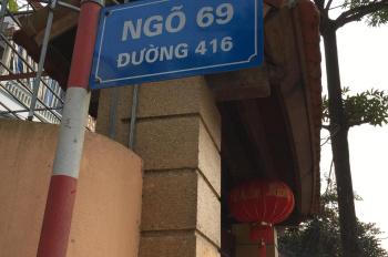 Đất gần đầu ngõ 69 đường 416, Trung Sơn Trầm, Sơn Tây, Hà Nội