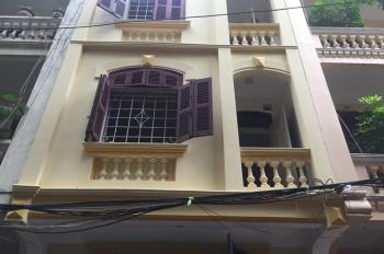 Cho thuê nhà riêng ngõ phố Trương Định, gần chợ Mơ, DT 65m2 x 4T, giá 16 tr/th