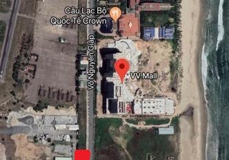 Cho thuê lô góc cực đẹp 539m2 Võ Nguyên Giáp cắt Nguyễn Đức Thuận, mặt tiền 25m