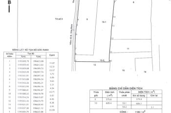 Bán lô đất đường Hoà Bình, Phường Tân Thới Hoà, Quận Tân Phú. DT 51x21m