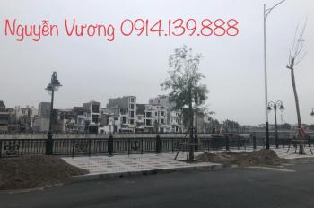 Bán đất phố đi bộ Thế Lữ, bán đất mặt đường Thế Lữ, dự án chỉnh trang sông Tam Bạc, LH 0914.139.888