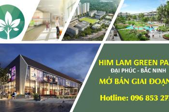 Liền kề Him Lam, Bắc Ninh, dự án đẳng cấp, tiêu chuẩn 5 sao, sổ đỏ lâu dài, vay vốn tối đa