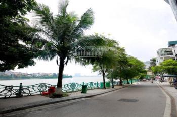 Bán nhà mặt hồ Quảng An, mặt tiền 10m, view trực diện Hồ Tây, vị trí đẹp nhất quận Tây Hồ