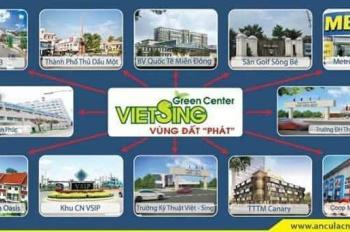 Cần ra gấp lô đất D1 Vsip 1 Việt Sing, giá 3 tỷ vị trí đẹp. 0989 337 446 Zalo