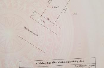 Chính chủ cần bán lô đất tuyến 2 trong ngõ đường Phương Lưu