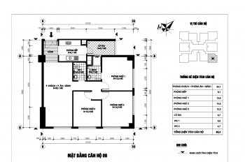 Chung cư Ngoại Giao Đoàn căn số 9 tòa N03T1, 95.5m2, full đồ 3,2 tỷ. LH: 0989.253.892