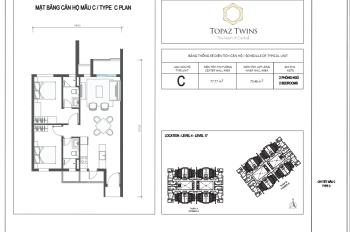 Hot! Bán căn hộ Topaz Twins, cao cấp, giá rẻ, LH: 0364.777.000 Mr Thọ