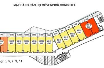 Cần nhượng lại căn hộ khách sạn 5* Movenpick tại Bãi Dài - Cam Ranh tuyệt đẹp