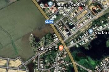 Bán các nền đất khu vực xã Cát Tiến, huyện Phù Cát. Diện tích đa dạng từ 100m2 đến 5000m2, giá tốt