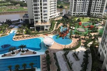 Cho thuê căn hộ 2 phòng ngủ Vista Verde, căn hộ view hồ bơi đẹp, giá 15tr/th, LH 0902979005