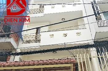 Cho thuê nhà mặt tiền đường Đinh Tiên Hoàng, quận Bình Thạnh. Diện tích 5x20m, 3 lầu