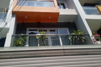 Chính chủ cho thuê nhà mới Hoàng Hoa Thám, P5, Bình Thạnh, diện tích: 4.5x15m, trệt, 3 lầu