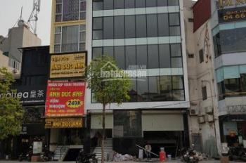 Cho thuê nhà mặt phố Hồ Tùng Mậu, Nam Từ Liêm, DT 100m x 5 tầng, MT 7m. LH 0984213186