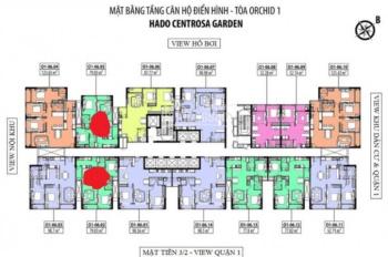 Bán lại căn 2PN (căn số 2 và căn số 5), block O1 Hà Đô Quận 10