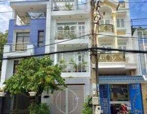 Bán nhà kinh doanh căn hộ dịch vụ 4 tầng Trần Quý Cáp. 9,3x19m, nở hậu