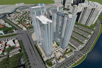 Sunwah Pearl 1PN, tháp WH, diện tích 53m2 tầng cao, layout đẹp, giá 3.3 tỷ. 0932009007