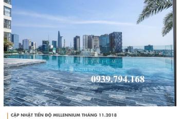 Bán căn hộ sân vườn Millennium, 65.03m2 + 20.5m2 sân vườn, full nội thất. Giá bán 5.8 tỷ