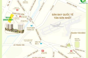 Chung cư Tecco Green Nest hẻm 287 Phan Văn Hớn, Phường Tân Thới Nhất, Quận 12