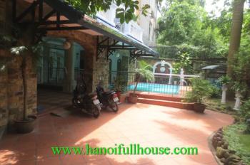 Biệt thự bể bơi view Hồ ở Tô Ngọc Vân, gara cho thuê phù hợp gia đình hoặc đại sứ quán, 0902134904