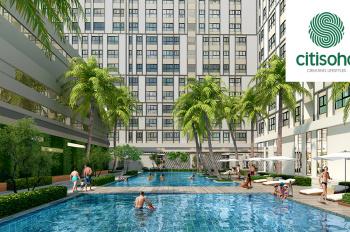 Bán lại căn hộ Citi Soho, tầng 9 có 2PN và 2WC giá 1.45 tỷ, nhận nhà trong năm 2019