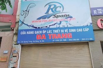 Chính chủ cho thuê nhà mặt phố Quang Trung Hà Đông giá 22tr/tháng (140m2x2,5). Lh 0922016908