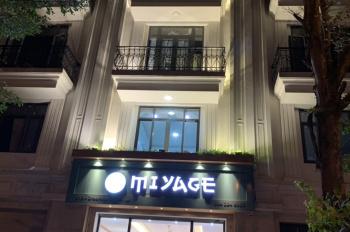 Cho thuê nhà 5T * 75m2, mặt phố Đỗ Quang. DT tầng 1 thông sàn, tầng 2,3,4,5: 80m2/sàn, MT 4,8m