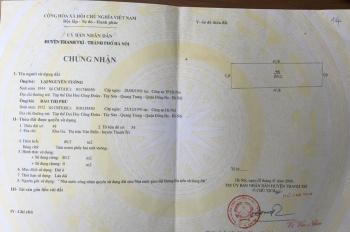Bán đất phân lô X3 Văn Điển, Thanh Trì, khu cán bộ huyện Thanh Trì, DT 80.2m2, MT 5.15m