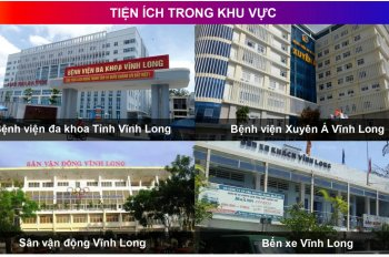 Cần bán 100m2 đất ở giá 840 triệu, ngay trung tâm thành phố, Vĩnh Long, gần Vincom Vĩnh Long
