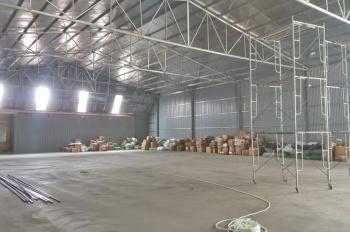 Kho vừa mới xây cần cho thuê ngay tại Thường Tín mặt đường QL1A giao thông thuận lợi-giá 55.000đ/m2