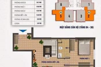 Tin hot nhất trong ngày, căn hộ 83,8m2 siêu đẹp, full đồ tại CT2 Nam Xa La