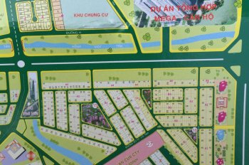 Bán lô B3 diện tích 160m2 dự án công ty Địa Ốc 3 KDC Khang An Q.9, giá 37 tr/m2