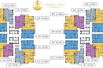 (Cô Tuyền - 0906839966) cần bán gấp CHCC Thống Nhất Complex: (1504 - 88m2), giá 28 tr/m2