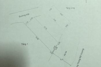 Cần bán gấp nhà đẹp 2 mt 3 tầng đường 10m5 Trưng Nữ Vương, TP Đà Nẵng