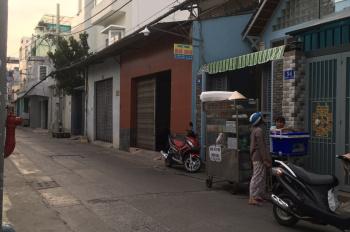 Cho thuê nhà mặt tiền hẻm nguyên căn gần chợ Bà Hoa