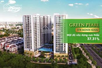 Chỉ từ 4.3 tỷ sở hữu căn góc 139m mặt đường Minh Khai - Green Pearl 378 Minh Khai, giá Sốc từ CĐT