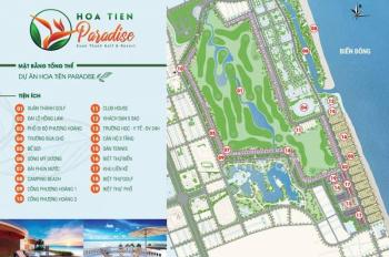 Chính chủ bán gần 2000m2 đất mặt biển Hoa Tiên Paradise, Nghi Xuân, Xuân Thành, Hà Tĩnh