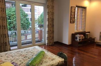 Cho thuê nhà PL Trung Yên, 80m2 x 4 tầng, vỉa hè, ô tô tránh nhau, giá 25tr/th