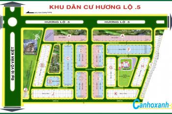 Chính chủ bán đất nền 6mx18m sổ đỏ KDC Hương Lộ 5, Hồ Học Lãm giá chỉ 1.5 tỷ, LH Linh 0902.617.846