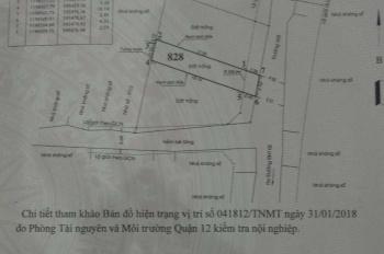 Đất mặt tiền đường Đông Hưng Thuận 31, phường Tân Hưng Thuận, Quận 12, 82m2