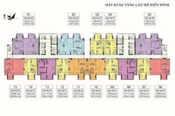 Chỉ 27 tr/m2 có ngay căn hộ 153m2 view sông Hồng, hướng Đông Nam Q. Hai Bà Trưng. LH 0961822892