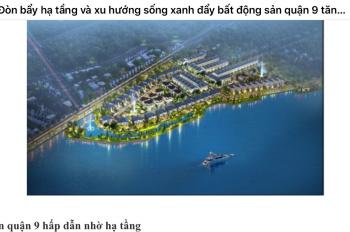 Palm Marina từ Novaland tại Q.9 nhà phố biệt thự sông mỗi ngày là 1 kỳ nghỉ, 0907353547 (24/7)