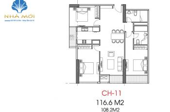 Bán gấp căn hộ 3PN Park Hill Premium, 118,5m2, giá 4.8 tỷ, nhà mới nhận nhà ở ngay. Lh0975344463