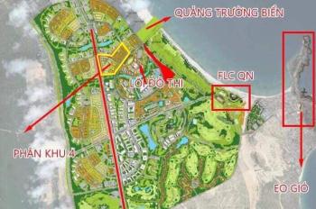 Note KH chắc chắn lấy được lô - bán đất khu đô thị sinh thái Nhơn Hội, cạnh FLC giá chỉ 1,3 tỷ/lô