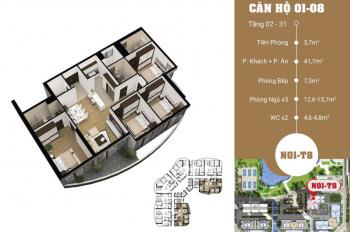 Chính chủ cần bán gấp căn hộ 1201 dự án N01T8 Ngoại Giao Đoàn giá rẻ. LH 0901437813
