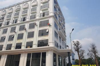Cho thuê văn phòng Vĩnh Yên, tòa nhà Minh Quân, 50, 100, 200, 500m2. LH 0986797222
