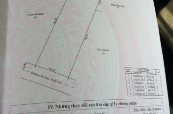 Đất Phú Quốc gần ngã ba ĐT 973 - Suối Cái - Gành Dầu - hơn 6000m2 - mặt tiền 43,9m