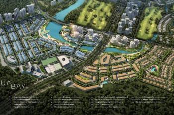 Cần bán căn biệt thự đơn lập khu Marina, Aquabay, Ecopark, căn góc, view vườn hoa